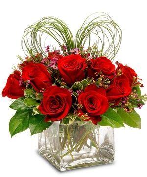 2016 valentine flower arrangement ideas - Google Search