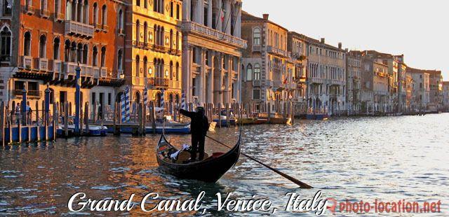 Grand Canal, Venice, Italy   45 26' 32'' N, 12 19' 0'' E
