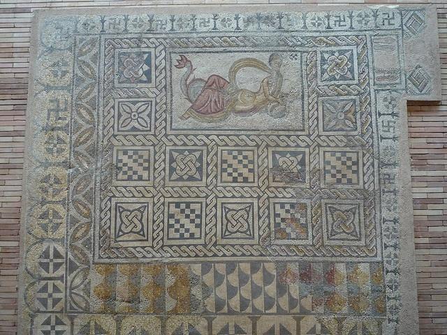 Roman Mosaic, Merida, Spain
