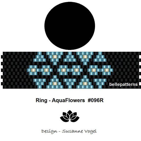 peyote patternPDF-Download 096R peyote ring beading