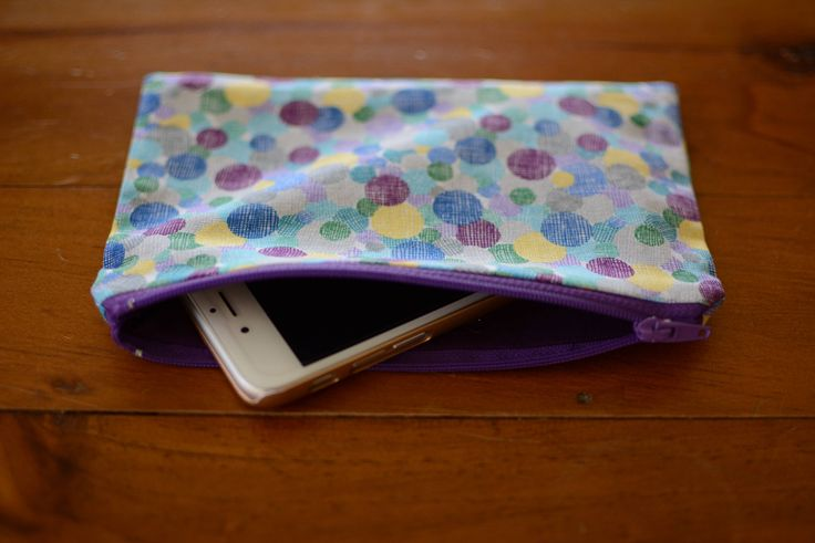 Excited to share the latest addition to my #etsy shop: Zipper Pouch, Pencil Case, Cosmetics / Makeup Bag, iPhone Pouch, iPod Holder http://etsy.me/2njxJGu #bagsandpurses #blue #purple #cosmetics #makeupbag #iphone #ipod #wallet #coinpurse