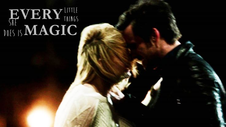 Emma & Hook || Every little thing she does is magic
