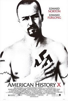 American History X is a 1998 American drama film directed by Tony Kaye and written by David McKenna. It stars Edward Norton and Edward Furlong, and co-stars Fairuza Balk, Stacy Keach, Elliott Gould, Avery Brooks, Ethan Suplee and Beverly D'Angelo. The film was released in the United States on October 30, 1998.  www.JRSpublishing-freegifts.co.uk