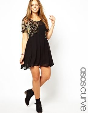 ASOS  Dress In Cutabout Print