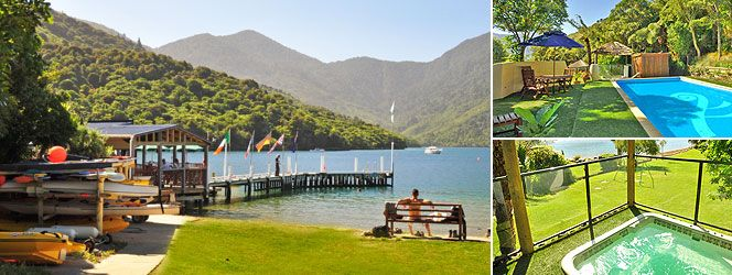 PUNGA COVE RESORT  Bev and Ralph Faulkner    Endeavour Inlet, Queen Charlotte Sound  Marlborough Sounds, New Zealand    Phone: +64 3 579 8561  Fax: +64 3 579 8080  Email: enquiries@pungacove.co.nz
