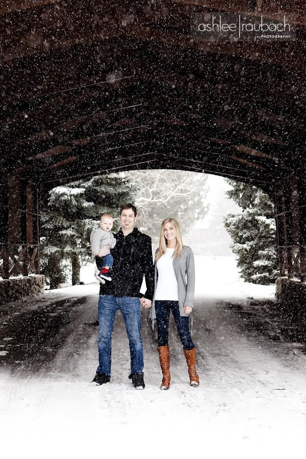 Love the snowy shot! #family #snow
