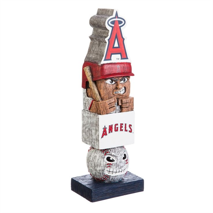 Preorder - Los An... http://www.757sc.com/products/preorder-los-angeles-angels-16-tiki-totem-figure-statue-ships-in-august?utm_campaign=social_autopilot&utm_source=pin&utm_medium=pin #nfl #mlb #nba #nhl #ncaaa #757sc