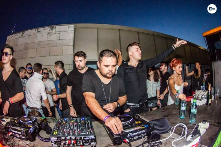 Punu - The Biggest Rooftop Party in Town - Timisoara - First Edition