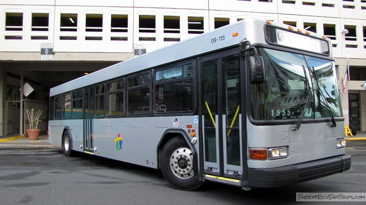 DTOP ATI AMA San Juan Bus Route Map Public Transportation Mass Transit | Puerto Rico Day Trips Travel Guide