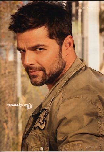 Ricky Martin... Ricky, Ricky you're so fine.. hey Ricky!
