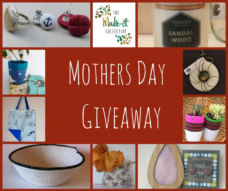 MOTHERS DAY GIVEAWAY worth over $300. Head to our Facebook page for details. https://www.facebook.com/pages/The-Make-It-Collective/621469687958487