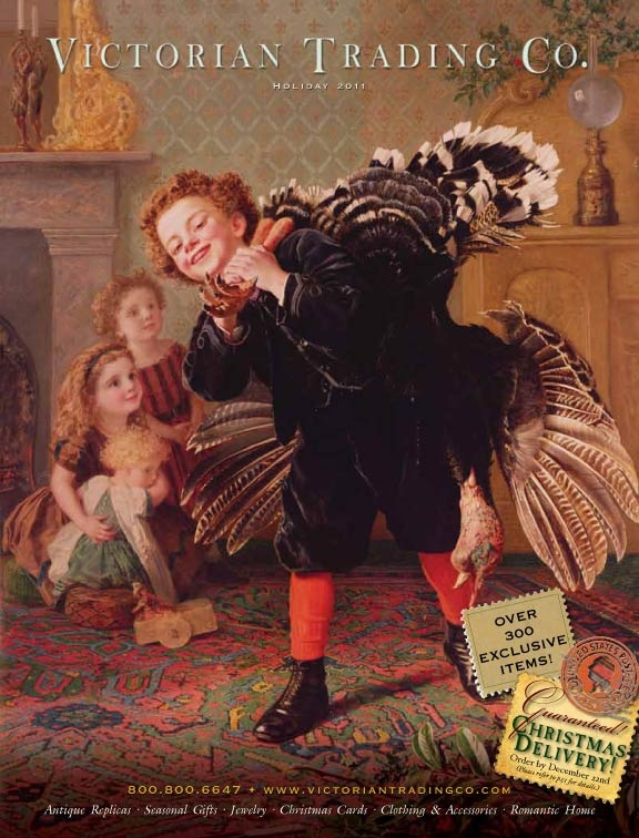 Victorian Trading Company CatalogSophie Anderson, Sophie Gengembre, Christmas Timeh, Private Collection, Christmas Turkey, Christmas Collection, Gengembre Anderson, Artists Sophie, Gobbler