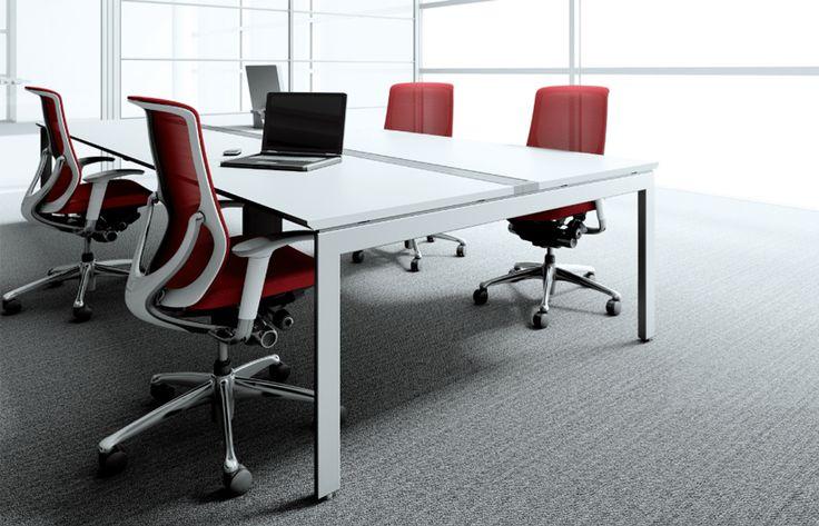 Pro Unit FW  Okamura Pro Unit FW, een tafel van PLAN@OFFICE ontworpen door Okamura.