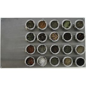 Large Board with 20 Containers by Soho Spices -- Dotmaison
