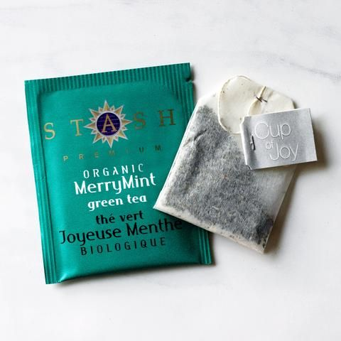 Organic Merry Mint Green Tea With lemongrass and ginger