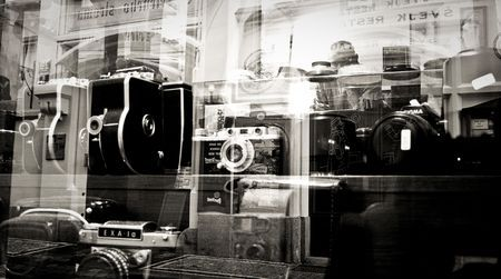 old camera shop in prague Photo by olivier romanelli -- National Geographic Your Shot