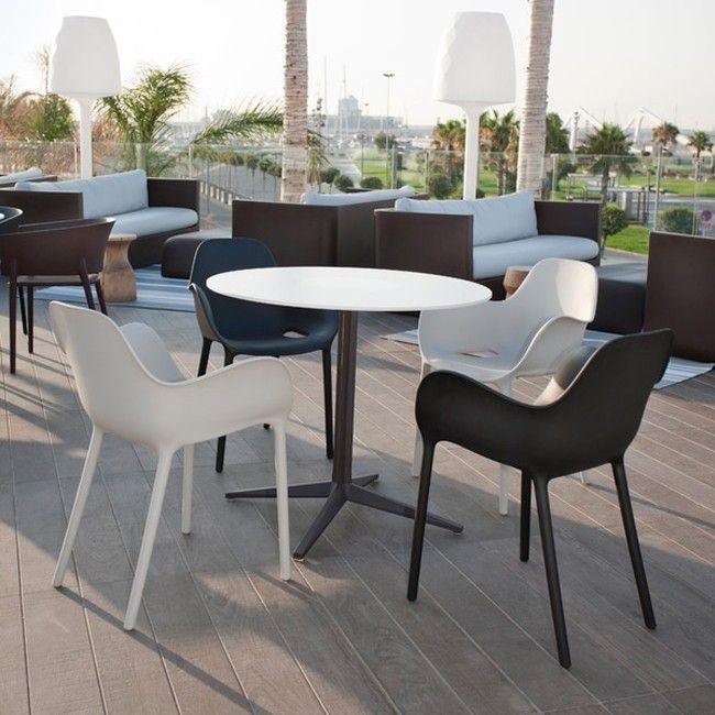 Chaise Sabinas Mobilier Terrasse Restaurant Design Mobilier Terrasse Decoration Interieure Facile Chaise Empilable