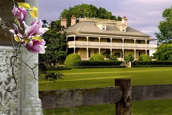 Old australian colonial estate house old australian for Old colonial designs