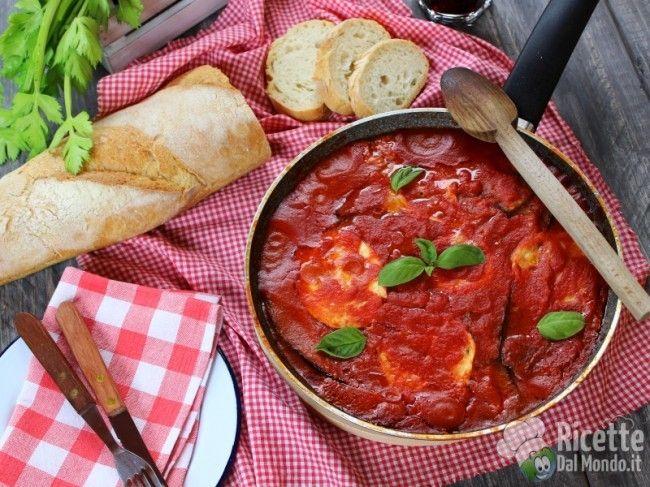 Parmigiana di melanzane in padella La buonissima #parmigiana da oggi anche senza forno! http://bit.ly/parmigiana-in-padella