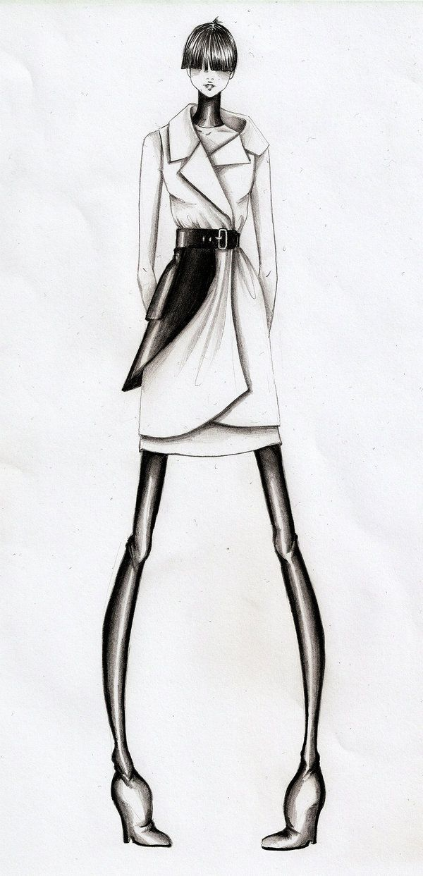 Fashion Illustration IV by ~Volpibr on deviantART