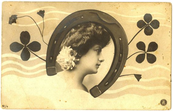 Amazing ORIGINAL 1902 ANTIQUE Spanish Art Nouveau Litho by UCRONIA