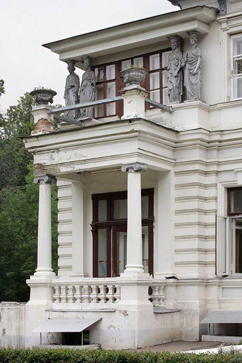 Дом в усадьбе Грачёвка. Москва, Архитектор Л.Н. Кекушев, строил Г.А. Кайзер. 1899 - 1900 гг.