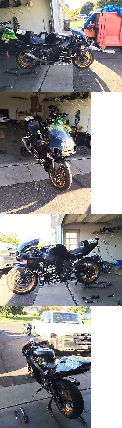Motorcycles: 2001 Kawasaki Ninja 2001 Kawasaki Zx7r With Big Bore Zx9r Engine Swap Track Bike Zx7 Zx750r Zx7rr -> BUY IT NOW ONLY: $3500 on eBay!