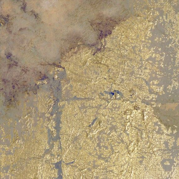 Gold leaf painting - various effects and textures can be acheived