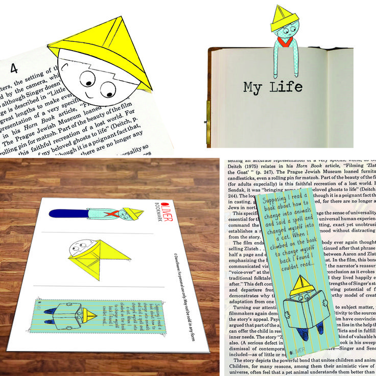 #Printable #bookmarks. Print it and stick him in your book