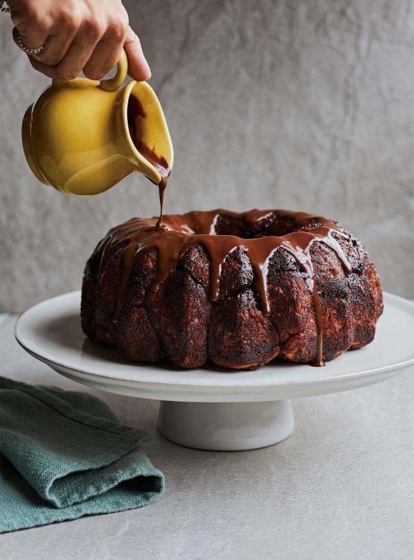 Monkey bread (brioche) au chocolat #ricardocuisine #cake