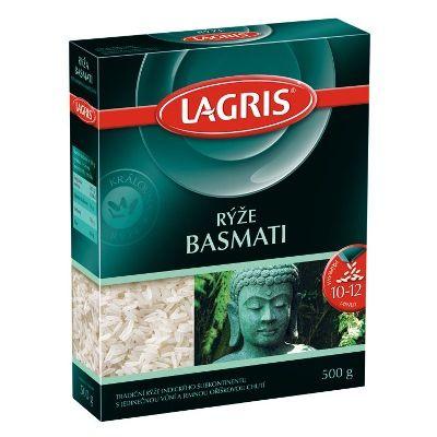 Lagris Rýže BASMATI 500 g - nakupuj na Podravka-eshop.cz