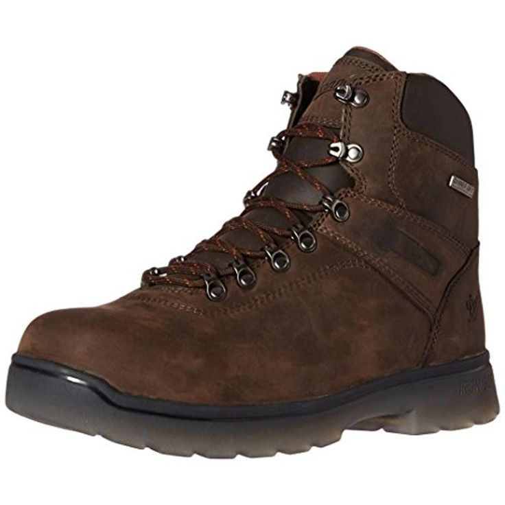 """Danner Mens IronSoft 6"""" Leather Waterproof Work Boots"""