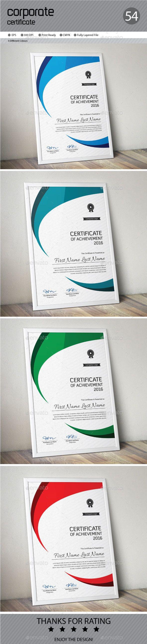 Certificate Template Vector EPS. Download here: http://graphicriver.net/item/certificate/14600876?ref=ksioks
