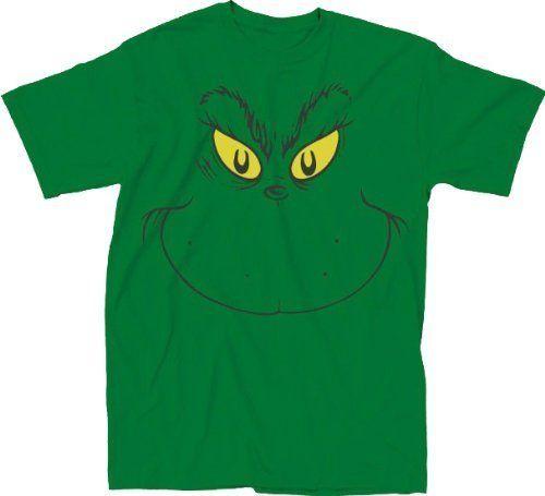 Big Face Grinch T-shirt