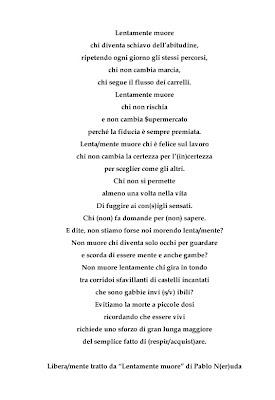Lentamente muore chi... P.Neruda