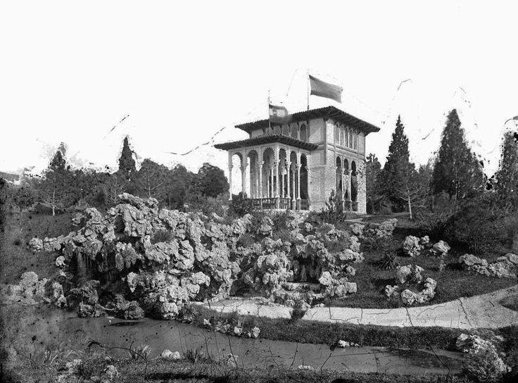 1883 El Pabellón Real o Pabellón Árabe.