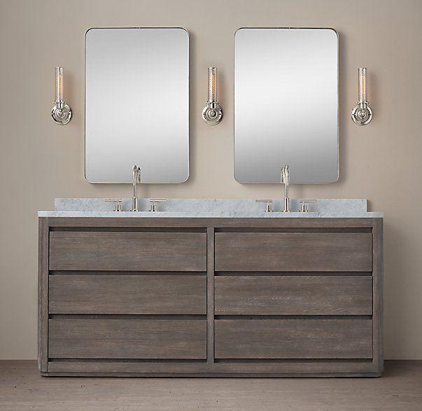 Picture Gallery Website Martens Double Vanity Sink