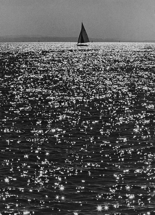 bodensee vor kressbronn (lake constance, kressbronn), probably 1960  © toni schneiders