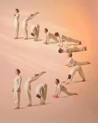 Si quieres hacer yoga, empieza con el saludo al sol  El yoga se practica en multitud de escuelas que tienen estilos diferentes, pero uno de los ejercicios más conocidos y realizados es el saludo al sol, o surya namaskar, su nombre en sánscrito. Es una secuencia de posturas que se realizan normalmente por la mañana... #salud #health #life #vida #yoga #relax #meditacion #relajacion