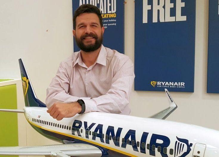 Nikolaos Lardis Joins Ryanair as Sales & Marketing Manager East Med