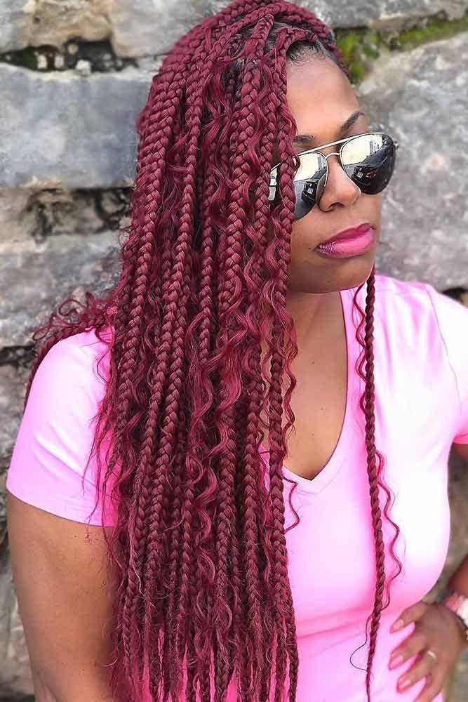 Pin By Zara Noble On Hair Stylez In 2020 Hair Styles Box Braids Hairstyles Braided Hairstyles
