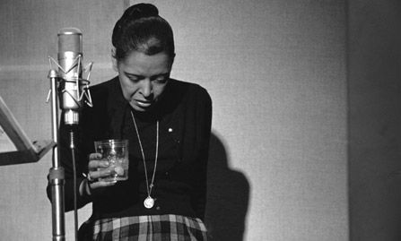 Billie Holiday, Last recording session.  Lesson learned.