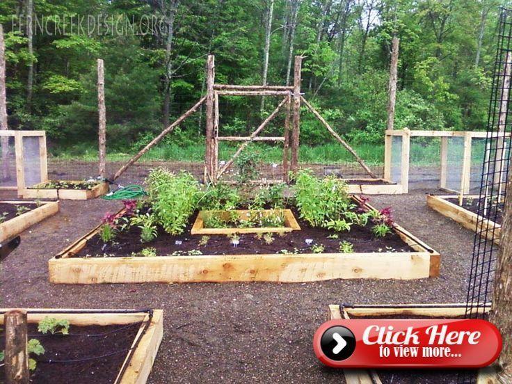 The Vegetable Garden Planner Fenced Vegetable Garden Organic