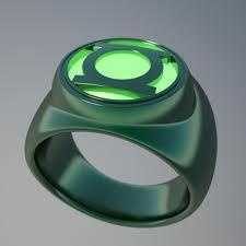 Green Lantern Ring - for me and my sister-geek-nerds out there!  I embrace my nerd-dom!