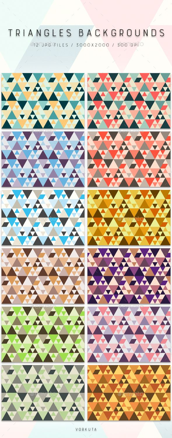 Triangles | Backgrounds