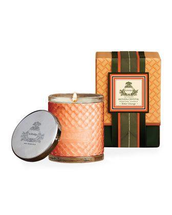 Bitter Orange Woven Crystal Perfume Candle 7 oz