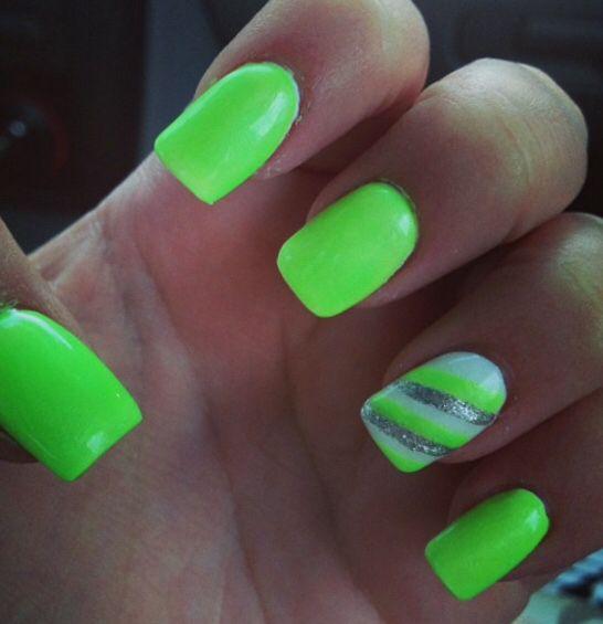 Mejores 54 imágenes de Nails en Pinterest | Clavos de plata ...