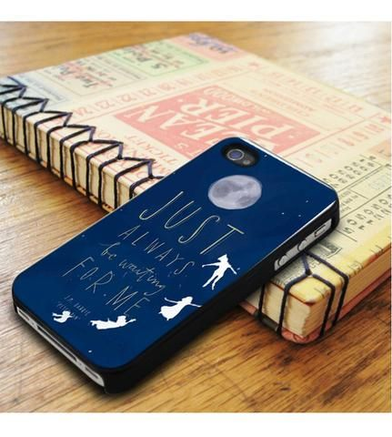 Peter Pan Quote Blue Sky iPhone 5|iPhone 5S Case
