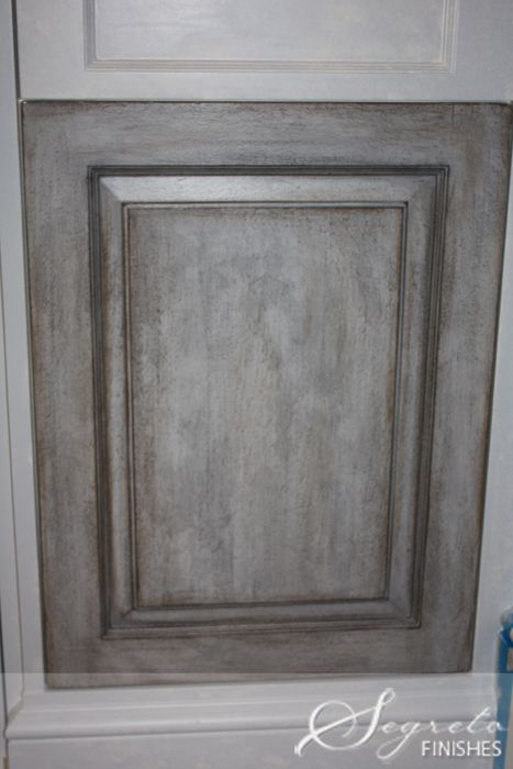 1000 ideas about distressed kitchen cabinets on pinterest for Grey cabinet paint