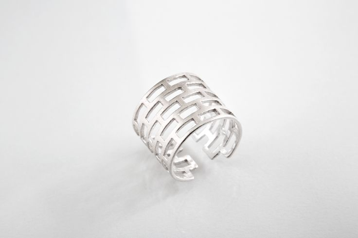 Plectere ring 2 // Silver #Melancholia #Jewel #Jewellry #signet #ring #silver